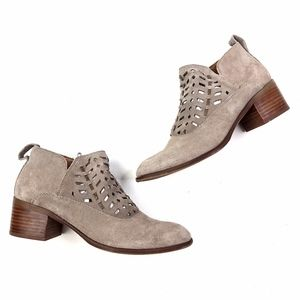 Franco Sarto | Rory Genuine Leather Suede Bootie